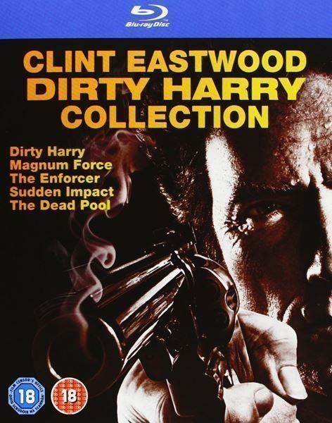 Blu Ray Dirty Harry 1-5 Coll. (5 Blu Ray