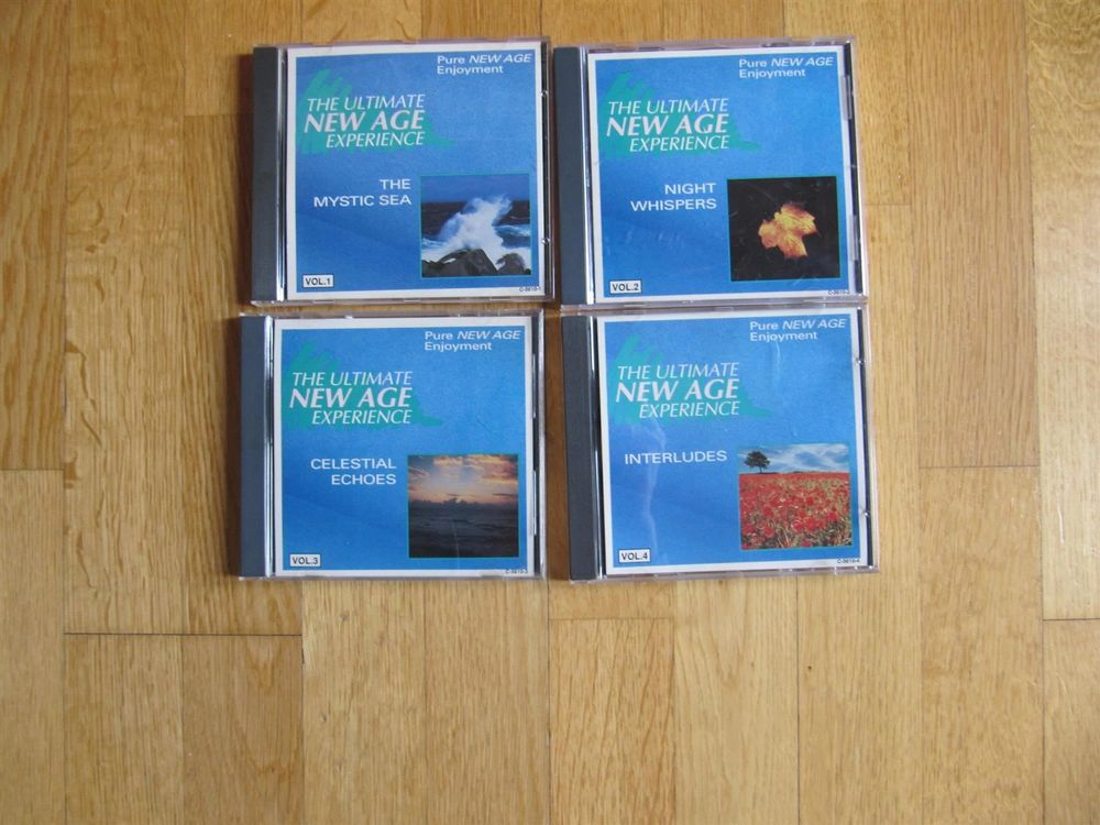 CD-Set: 4x Meditation New Age Enjoyment
