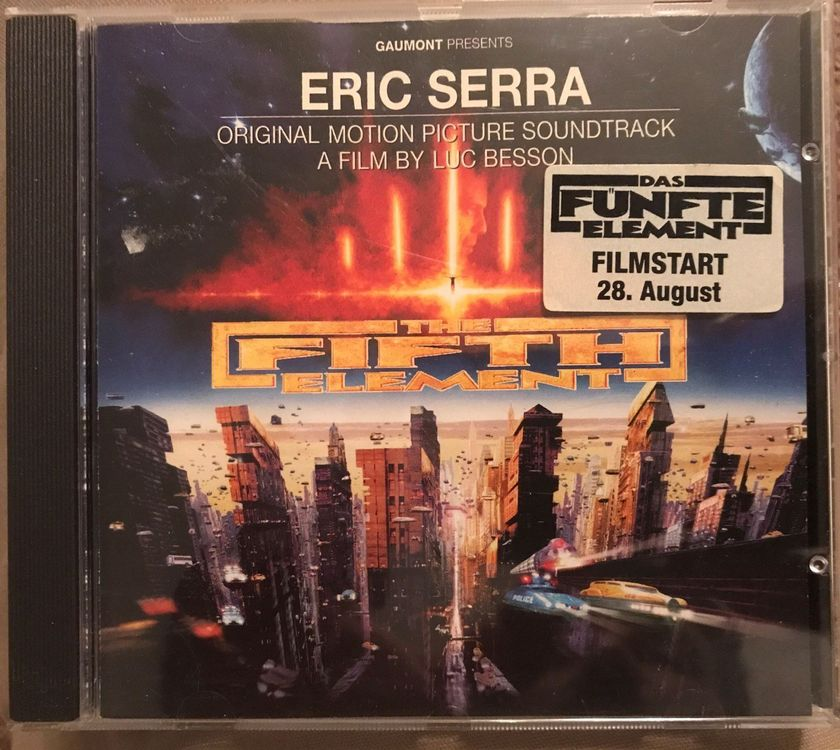 "CD: ""The fifth element"" movie Soundtrack"