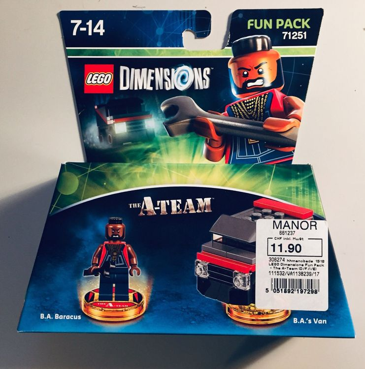 Lego Dimensions A-Team B.A