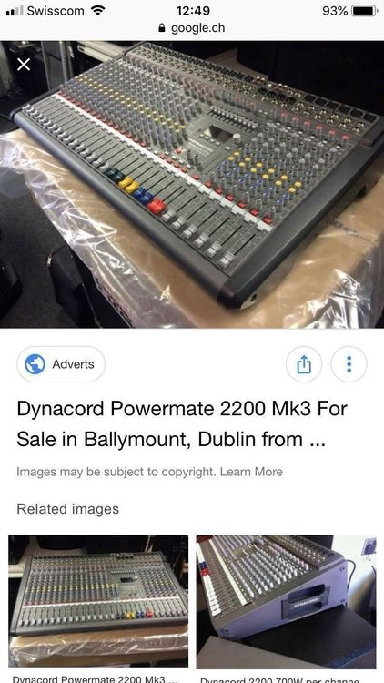 Dynacord Power Mate 2200-3