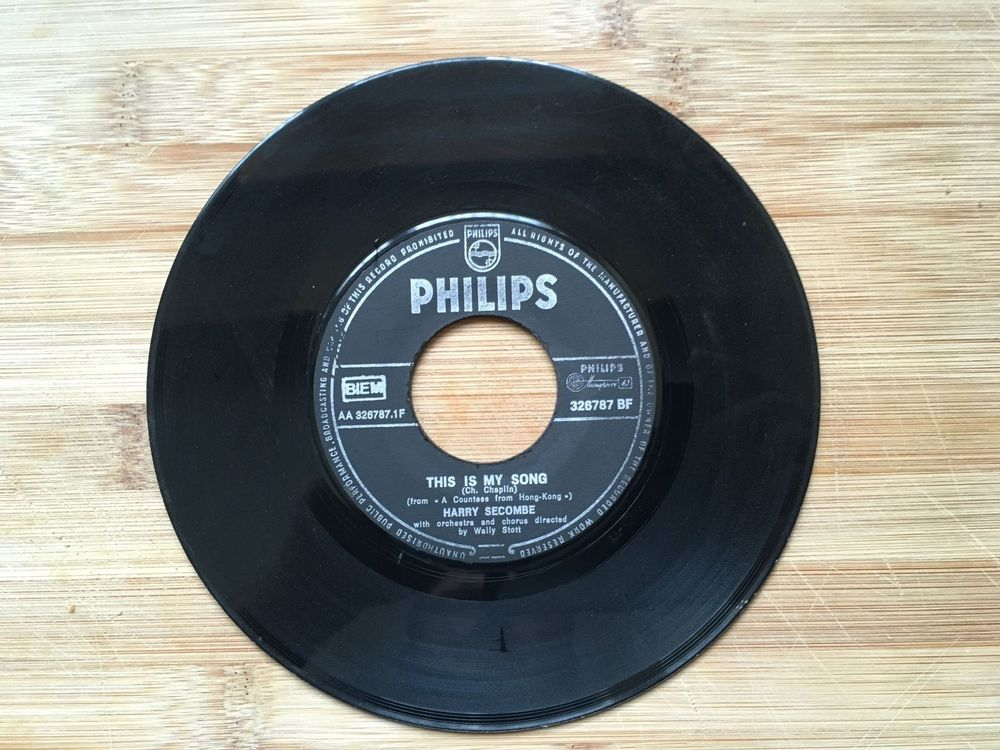 Harry Secombe / This is my Song