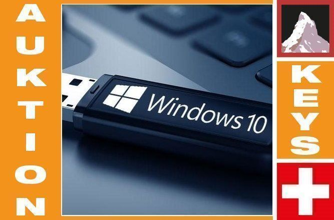 Windows 10 Pro auf bootable USB Stick