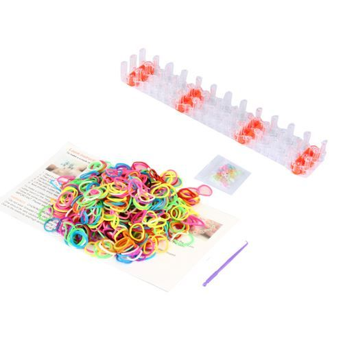 Rainbow Loom Kit 600 Gummibänder + Clips