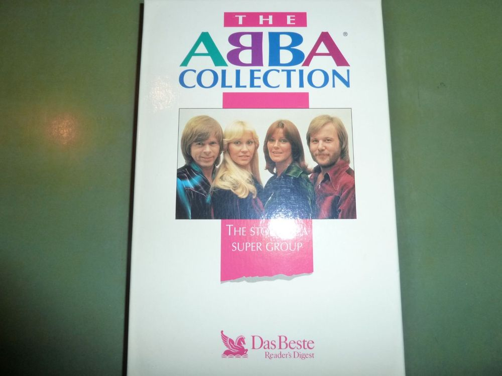 The ABBA Collection, 4 Kassetten in Box