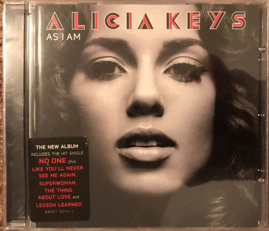 "CD ""Alicia Keys - As I Am"""