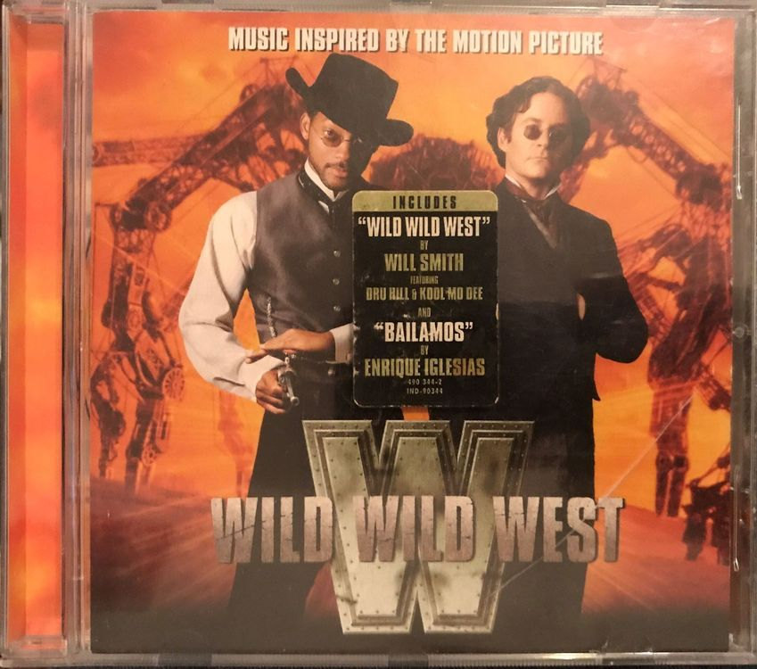 "CD ""Wild Wild West"" Soundtrack"