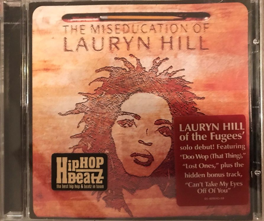 "CD ""Lauryn Hill - the Miseducation of"""