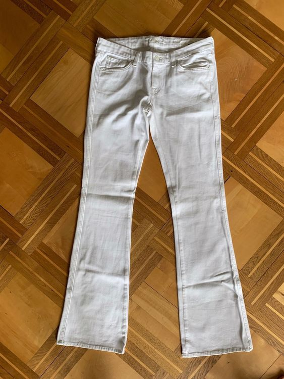 Weisse Jeans Seven for all Mankind,Gr.28