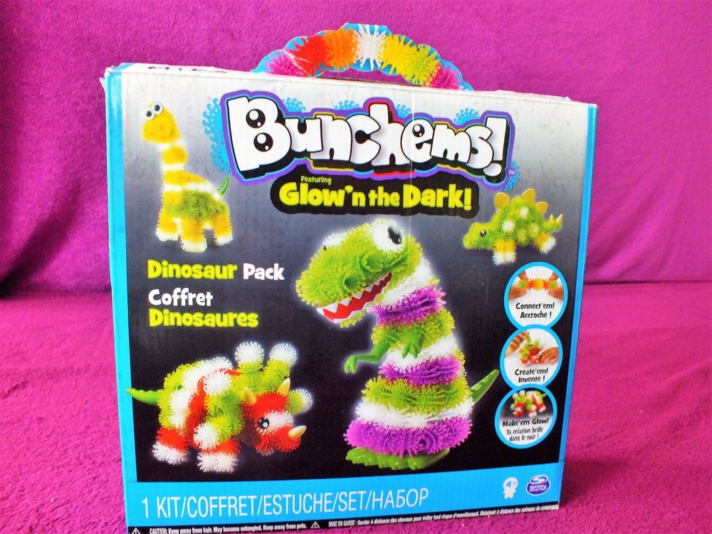 Bunchems Glow in The Dark Dino... Pack