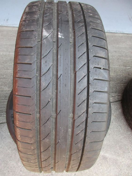 2 stk. Continental 235/50/18 Contact 5
