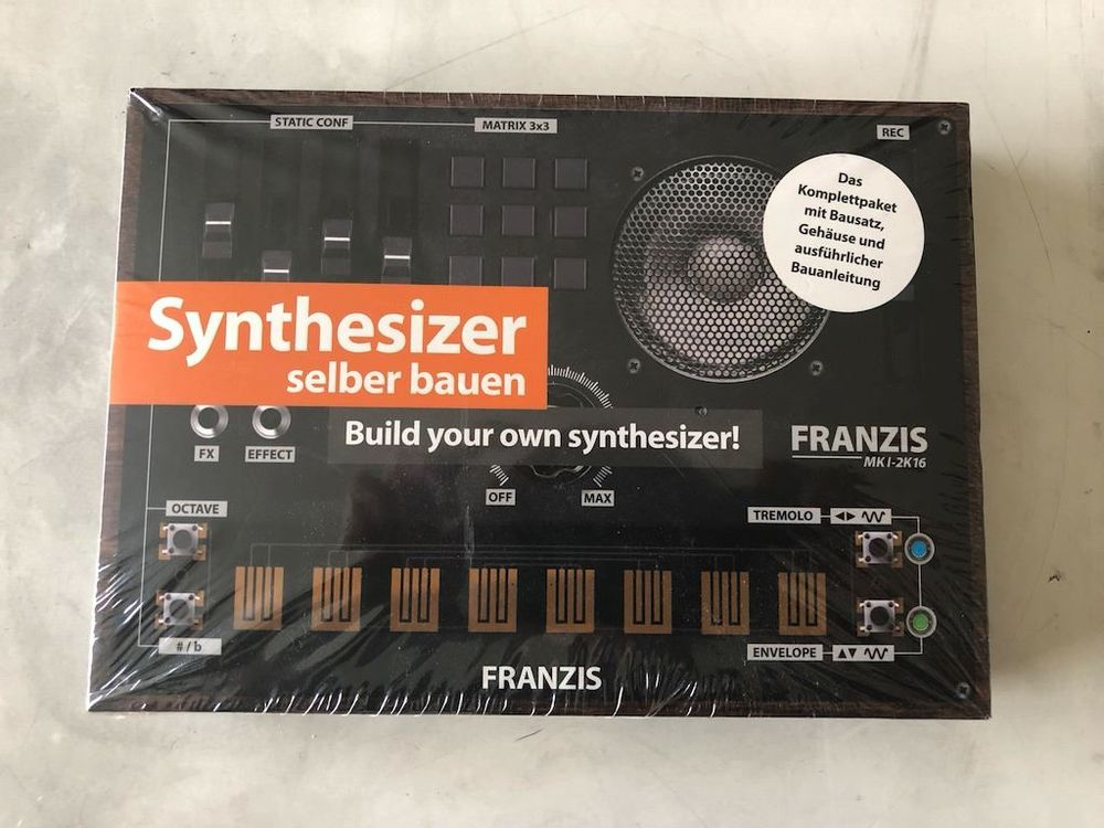 Synthesizer experimentier Set