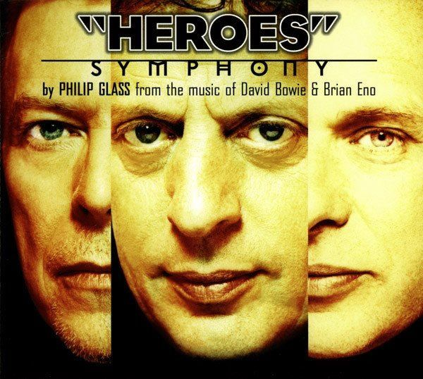 Philip Glass HEROES Brian Eno D.Bowie CD