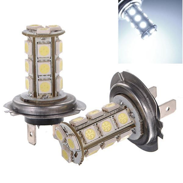 2X voiture H7 Xenon Blanc SMD 5050 18LED