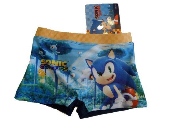 Sonic Colours by Sega Badehose Gr. 104