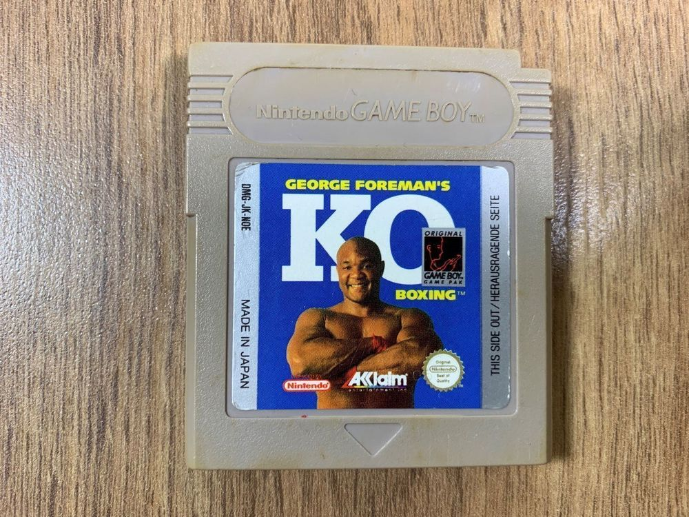 George Foreman's KO Boxing Gameboy Spiel