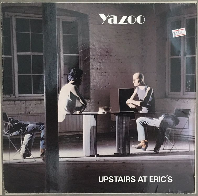 YAZOO - UPSTAIRS AT ERIC'S - 33 Tours