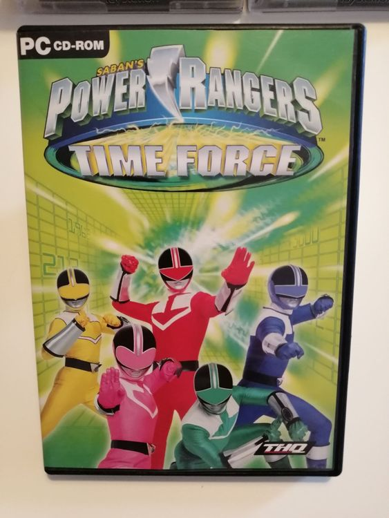 Saban's Power Rangers - Time Force, PC