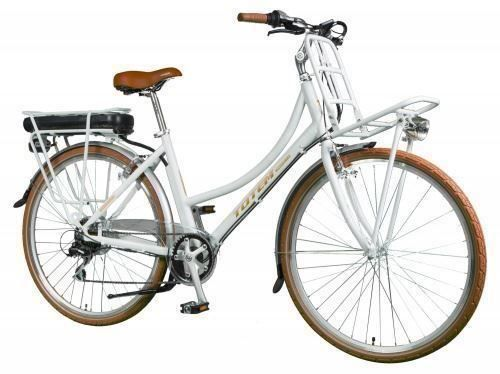 E-Bike pour dames Betty blanc