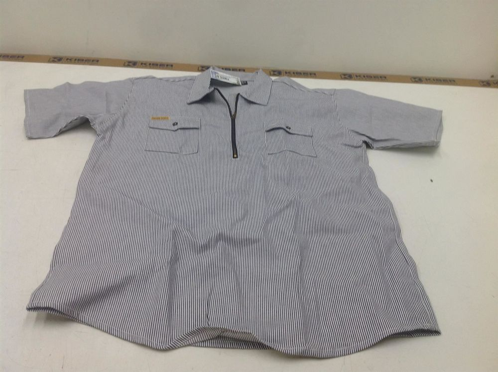 Prison Blues Hickory Shirt, Gr.L