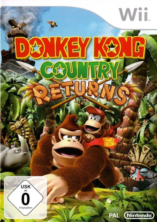 Donkey Kong Country Returns OVP