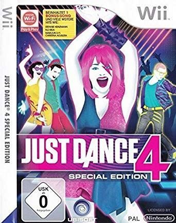 Just Dance 4 Special Edition OVP