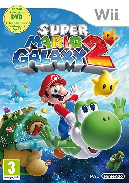 Super Mario Galaxy 2 Box-Version OVP
