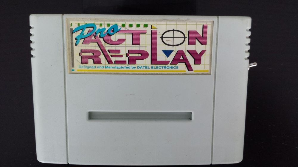 Super Nintendo Pro Action Replay