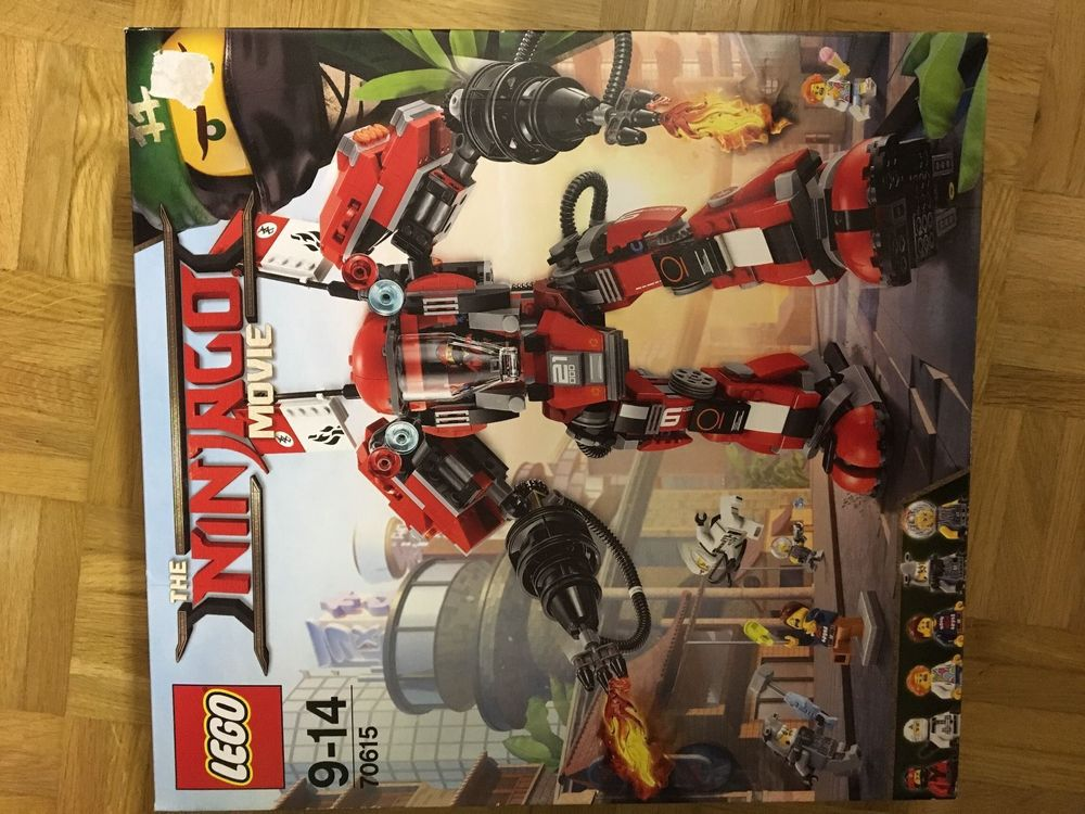 "Lego 70615 ""The Ninjago Movie"""