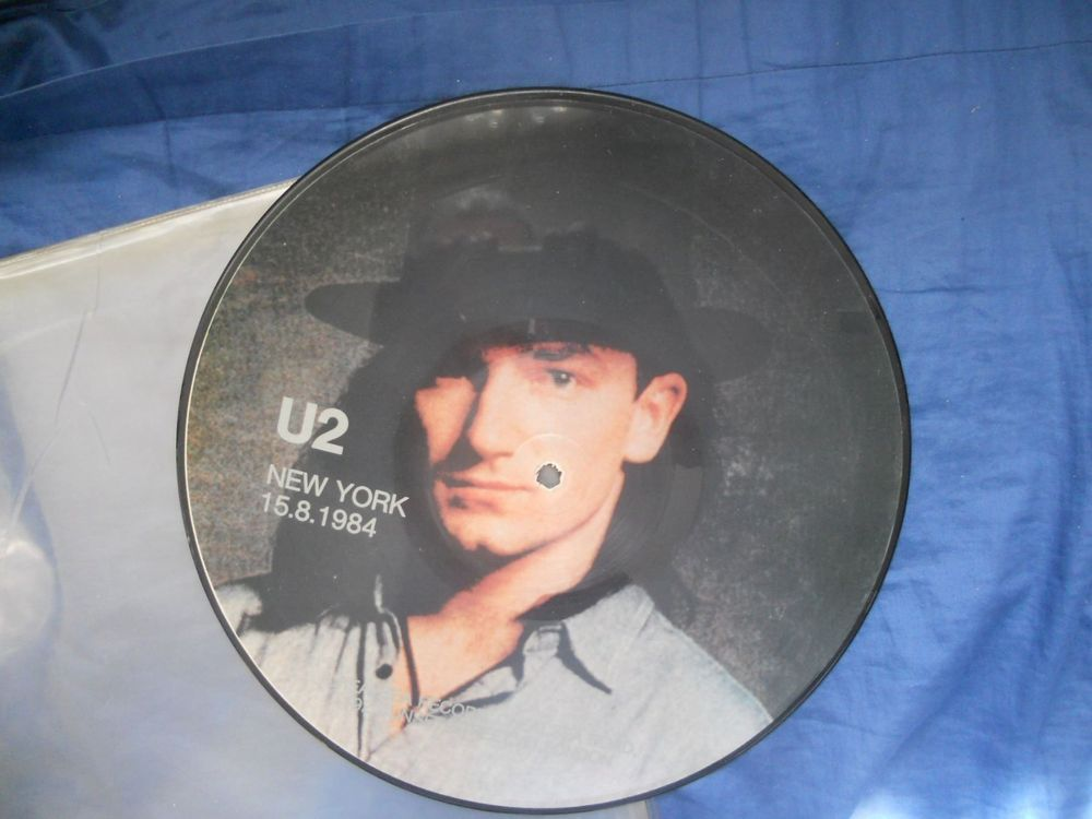 U2 : New York 15.8.1984 (picture disc)