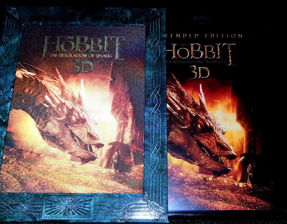 The Desolation of Smaug 3D Blu- Ray