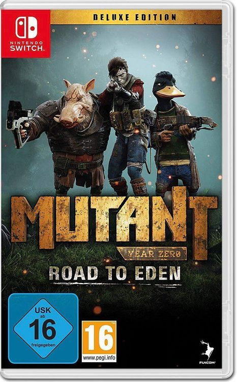 Mutant Year Zero: Road to Eden - Deluxe