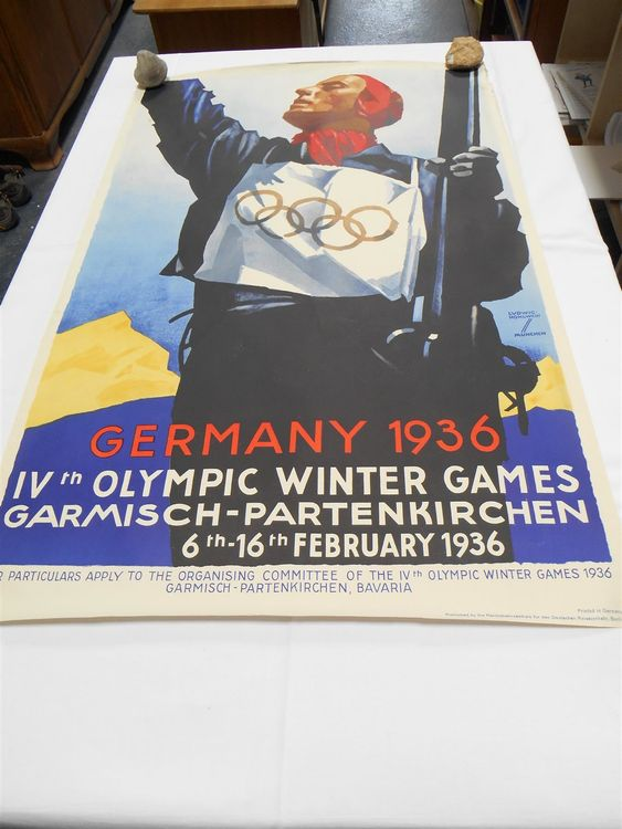 Germany 1936 Olympic Winter Games