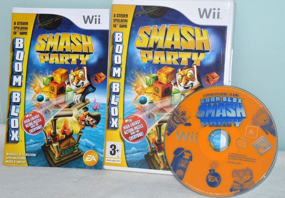 Boom Blox Smash Party Nintendo Wii Spiel