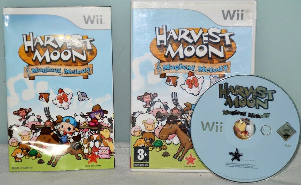 Harvest Moon Magical Melody Wii Spiel
