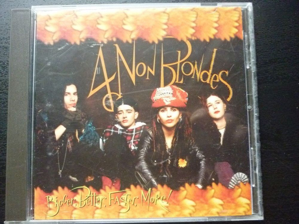 CD: 4 Non Blondes - Bigger,Better (1992)