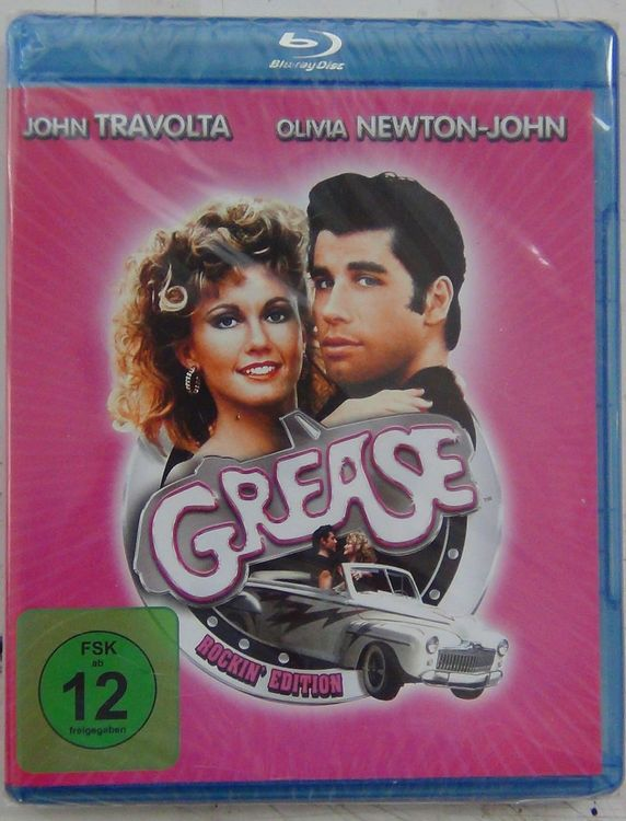 Grease blueray disc