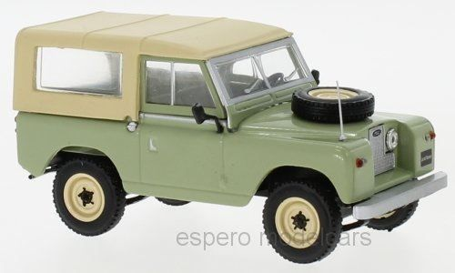 Land Rover 88 Series II 1958-1971 hell