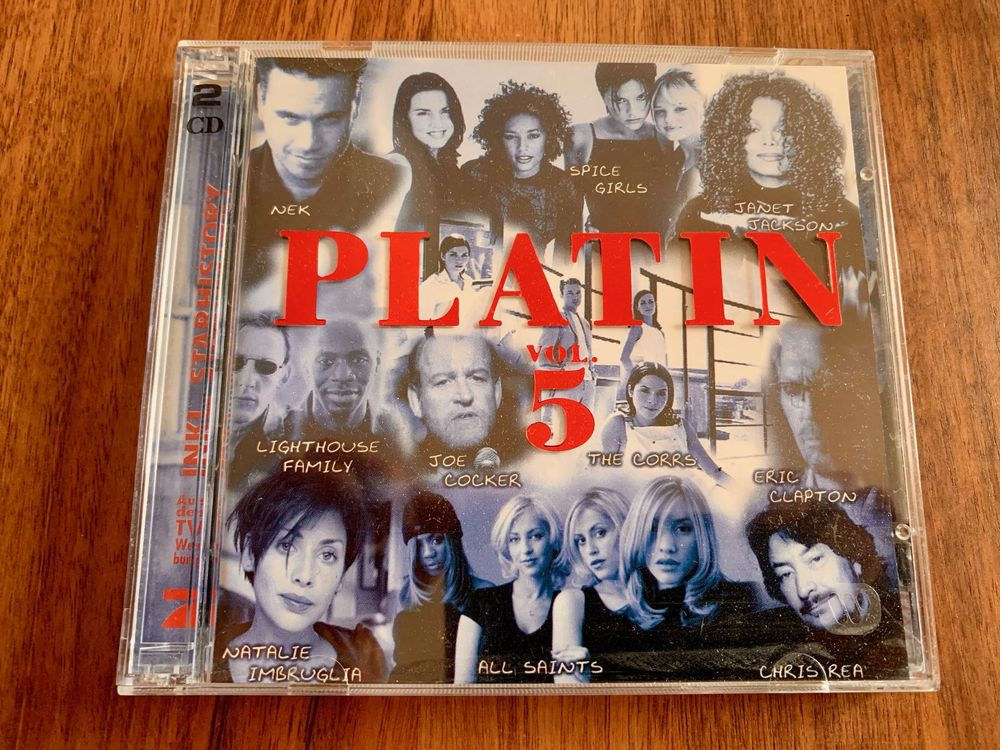 Platin Vol. 5 - Megasongs, Doppel-CD