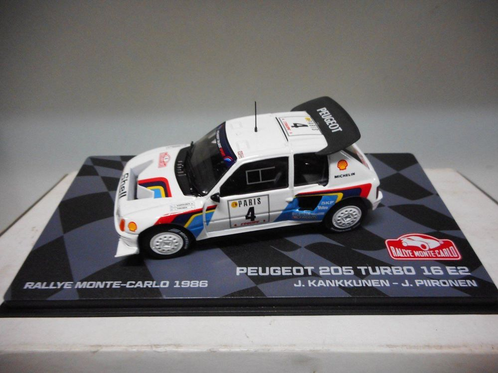 Peugeot 205 Turbo T16 E2 #4 Rally Monte