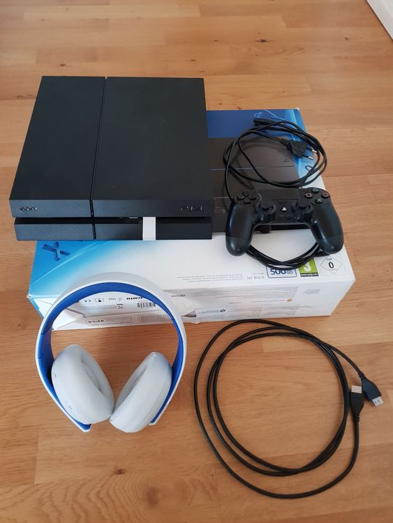 Sony Playstation 4 500GB ab CHF 1.-
