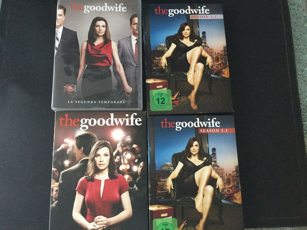 DVD the Goodwife, Staffeln 1, 2, 3