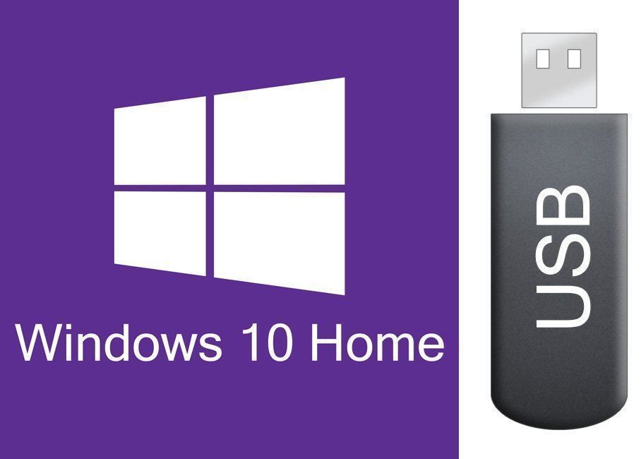 Windows 10 Home auf bootbarem USB STICK