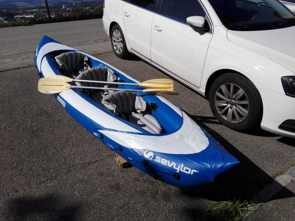 Kayak gonflable 3 places Sevylor