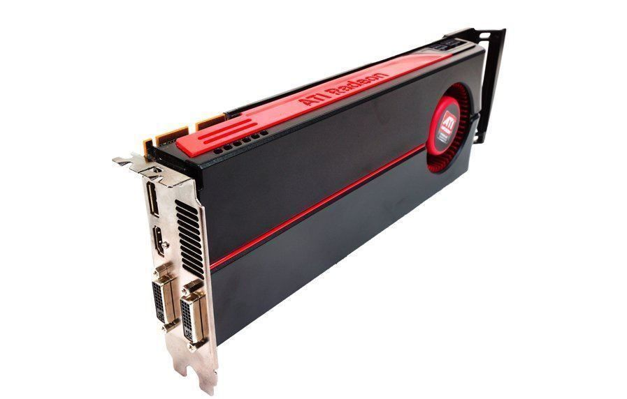 2X ATI RADEON 5870 With CrossFire bridge