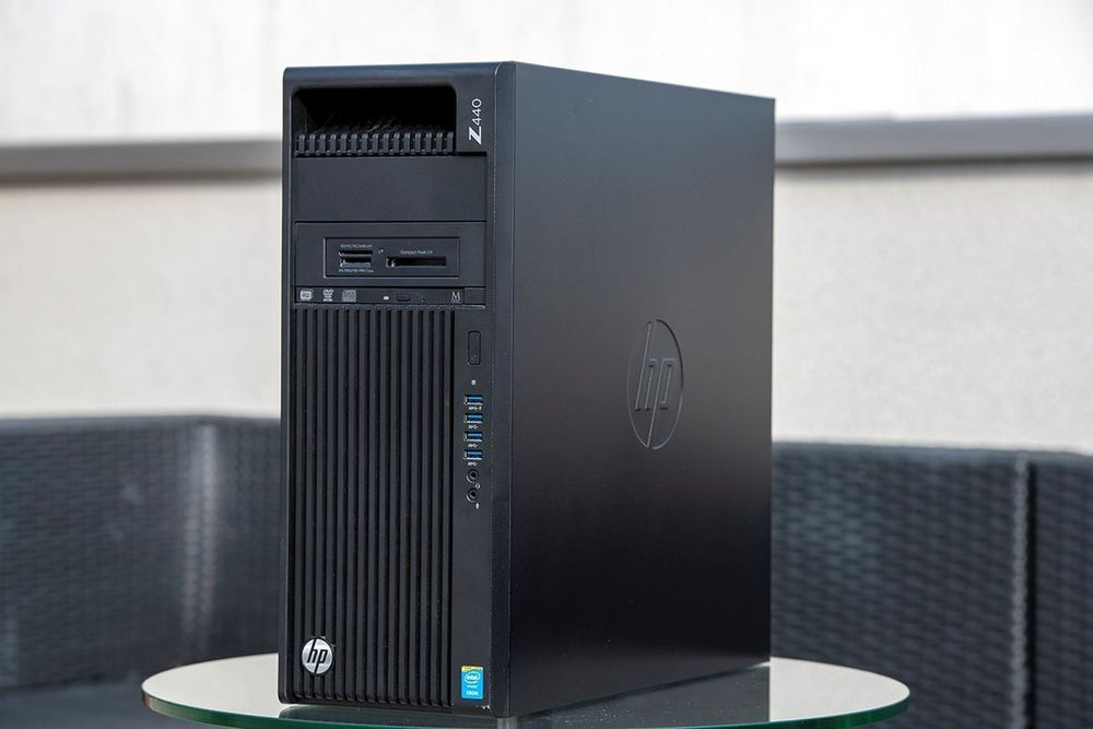 HP Z440 XEON 32GB 240GB Win10 Office2019