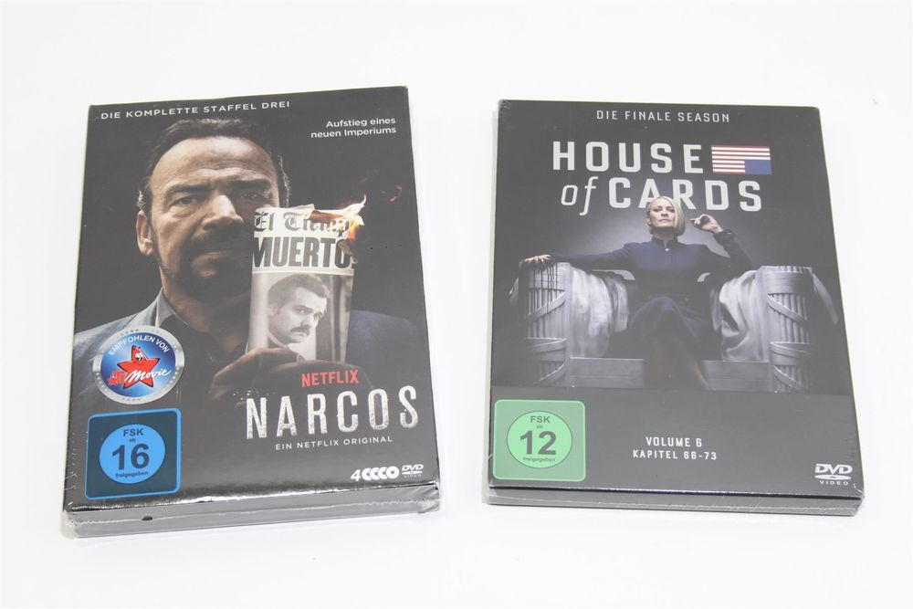 NARCOS & HOUSE OF CARDS DVD (19082801)