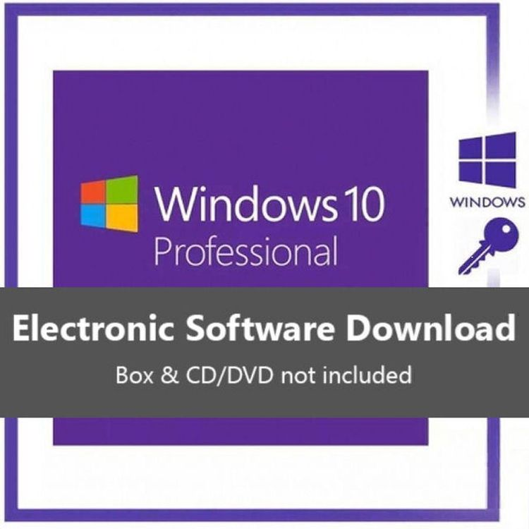 WINDOWS 10 PRO Professional 4 PC 4 KEY