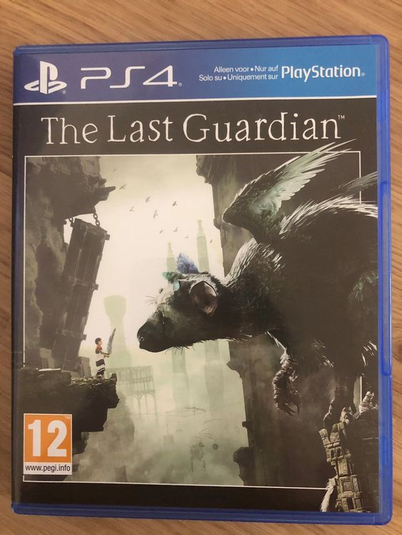 PS 4 GAME THE LAST GUARDIAN
