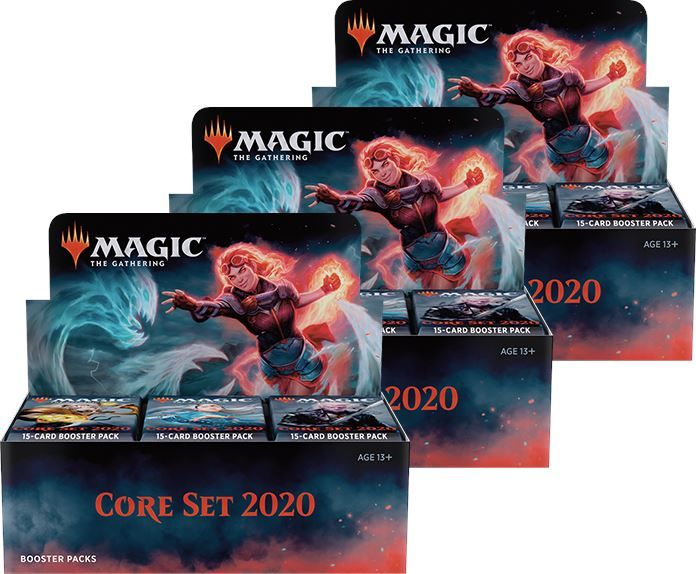 Magic-Hauptset 2019-1 Booster-Allemand